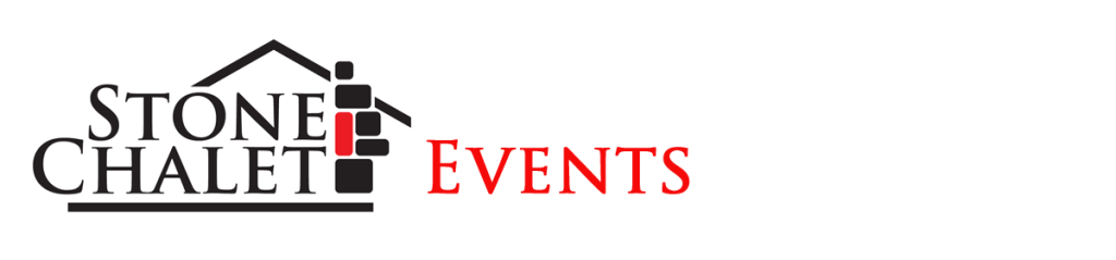stone chalet events logo
